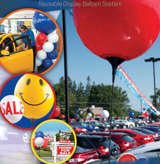 Reusable Advertising Balloons